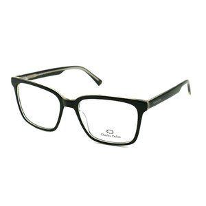Charles Delon Square  Style Gray/Black Frame
